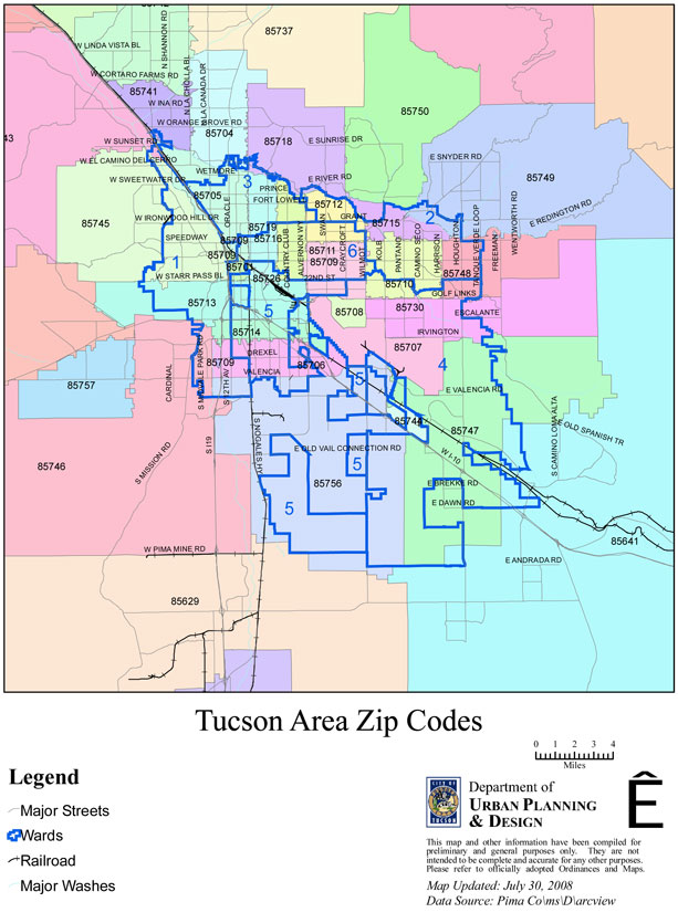 Map Of Tucson Mvp Consulting Group Llc